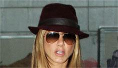 Was Jennifer Aniston's new silver Bentley originally a gift for John Mayer?