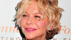 Meg Ryan has stopped injecting her lips with crazy