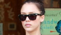 Jessica Alba is going to shank Lindsay Lohan