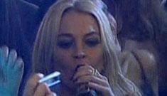 Friday shocker: Lindsay Lohan drinking again