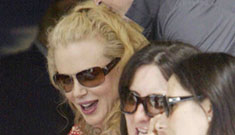 Nicole Kidman's maybe-pregnancy has her quit film