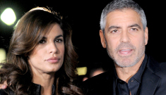 George Clooney has met his match in Elisabetta Canalis