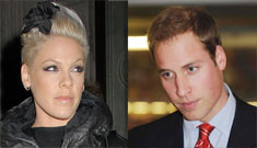 Pink calls Prince William 'like a redneck from the South' on fox hunting issue
