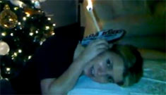 Jessica Simpson's ear candling video: you're doing it wrong
