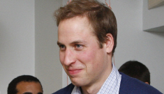 Prince William cooks breakfast for homeless youths