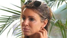 Rachel Uchitel denies being a pregnant lesbian