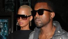 Kanye West sticks close to Lady Gaga & Amber Rose