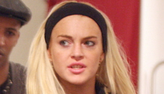 Lindsay Lohan has a new model boyfriend that she's drowning in drama