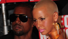 Kanye West & Amber Rose spend holidays feeding the homeless