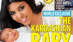 Kourtney Kardashian unveils baby Mason Dash in Life & Style
