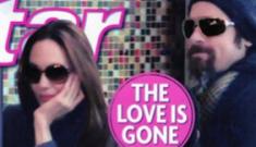 "Star: Angelina Jolie's ""cheating bombshell"" makes Brad leave"