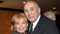 Are Whoopi Goldberg and Barbara Walters fighting over Frank Langella?