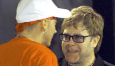 Is Elton John helping Eminem with his sobriety?