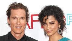 Matthew McConaughey and Camila Alves welcome daughter Vida