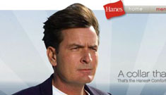 Hanes drops Charlie Sheen ads as tagline becomes ironic