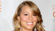 "Mariah Carey blames loopy award speech on ""splashes of champagne"""