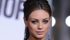 Is Mila Kunis scary-skinny?