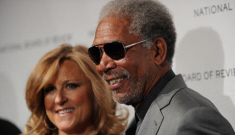 Is Morgan Freeman trying to dispel rumors he's with his step-granddaughter?