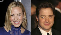 Did Maria Bello break up Brendan Fraser's nine year marriage?