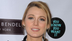 Blake Lively steps out in $1595 holey boots & no pants