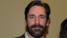 """Would Don Draper approve of Jon Hamm's beard?"" links"