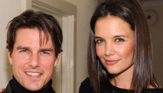 Tom Cruise & Katie Holmes were at same Globes pre-party as Chris Klein