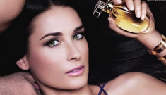 Demi Moore got a new face for her 'Wanted' perfume ads