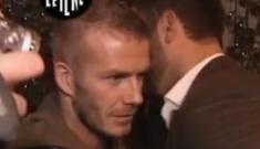 David Beckham's Goldenballs groped for Italian comedy show
