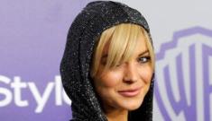 Lindsay Lohan, paid escort