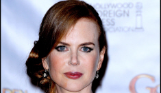 Was Nicole Kidman fired from three films because of her frozen face?