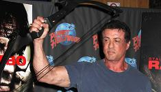 Sly Stallone claims he didn't inject Janice Dickinson with steroids