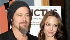 Brad Pitt and Angelina Jolie deny split rumors