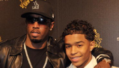 P. Diddy buys his 16-year old son a $360 K Maybach