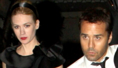 Is January Jones already over Jeremy Piven?