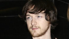 James McAvoy tries to join The Beard Club, fails