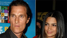 Is Camila Alves' mom trying to get Matthew McConaughey to sign a financial pact?