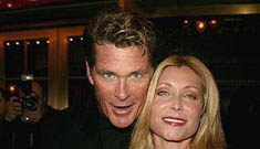 Even With Divorce Finalized, David Haselhoff and Pamela Bach Still Bickering