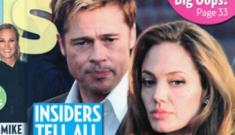 Tabloids agree: Brangelina split, Brad is going back to Jennifer Aniston