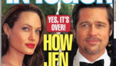 """Brad Pitt called Angelina a """"bitch"""" behind her back"""