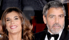 Elisabetta Canalis is jealous of George Clooney's female friends, exes