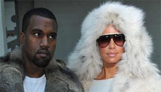 Kanye West compares anti-fur activists to racists in another all caps rant