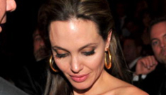 """Experts: Angelina Jolie shows signs of """"stress"""" & """"pressure"""""""