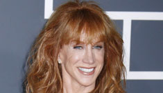 """Kathy Griffin says her thin body is due to """"starvation and frustration"""""""