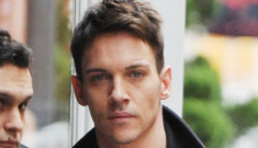 Jonathan Rhys Meyers: still crazy/drunk, or just hot?