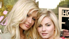 Paris Hilton and Elisha Cuthbert spotted making out at club