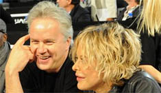 "Have Meg Ryan and Tim Robbins been having a ""secret affair""?"