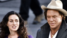 Mickey Rourke: Megan Fox is a world-class beauty & the best young actress
