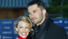 Kylie Minogue and Olivier Martinez together again