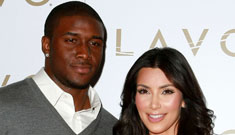 Reggie Bush is mad at Kim Kardashian for stealing his Super Bowl thunder