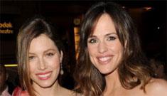 A Laverne and Shirley movie with Jessica Biel & Jennifer Garner?
